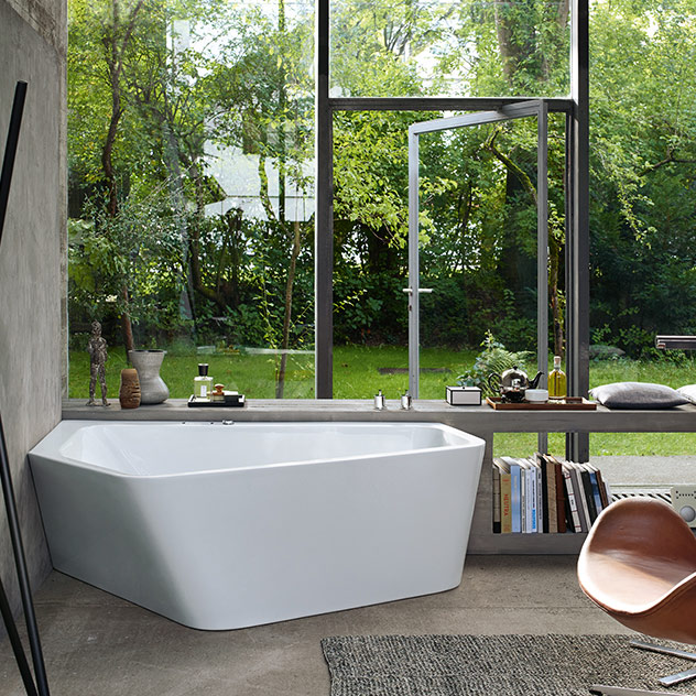 A harmonious and lively bathroom thanks to Duravit inspirations