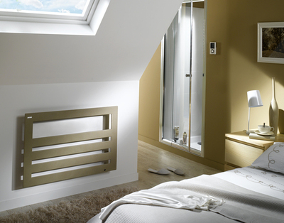 ACOVA towel radiators for central heating and electric heating