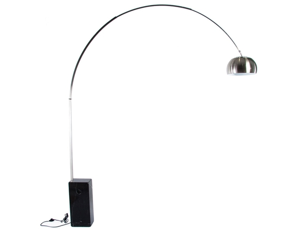Arco floor lamp - Black marble