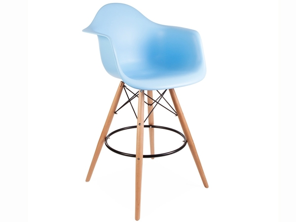 Bar chair DAB - Blue