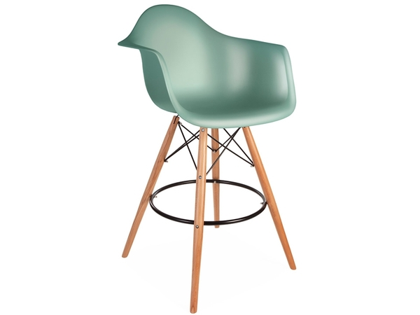 Bar chair DAB - Blue green