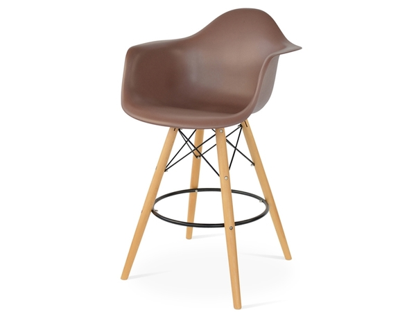 Bar chair DAB - Brown