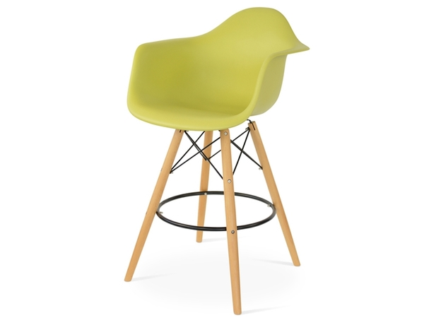 Bar chair DAB - Olive green