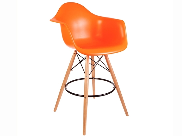 Bar chair DAB - Orange