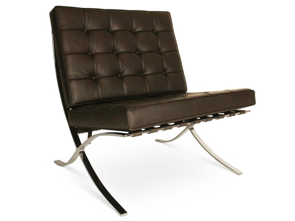 Barcelona chair - Dark brown