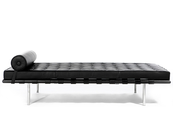 Barcelona Day bed 200 cm - Black