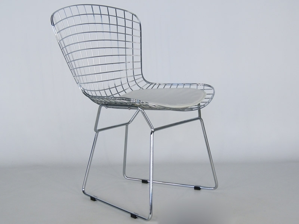 Bertoia Wire Side Chair - White