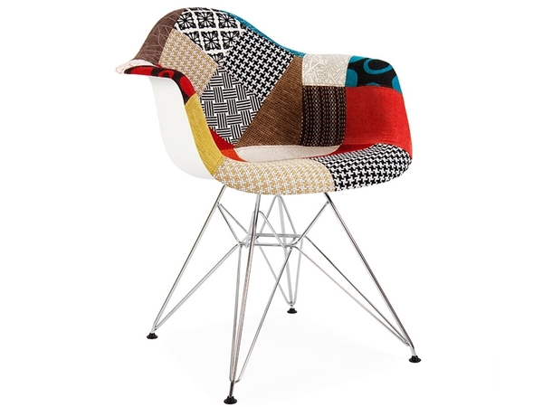 DAR chair padded - Patchwork