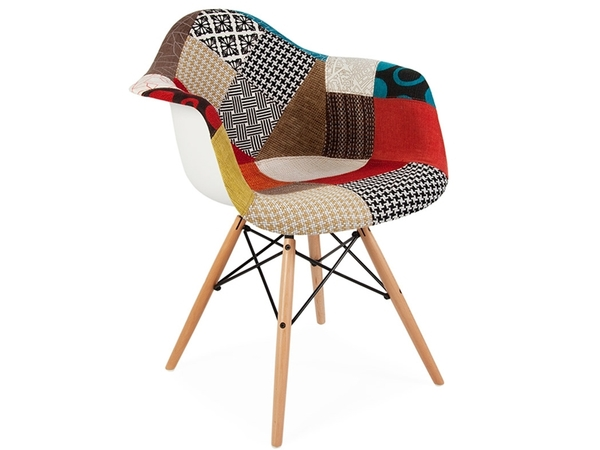 DAW chair padded - Patchwork