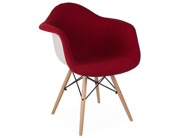 DAW chair wool padded - Red