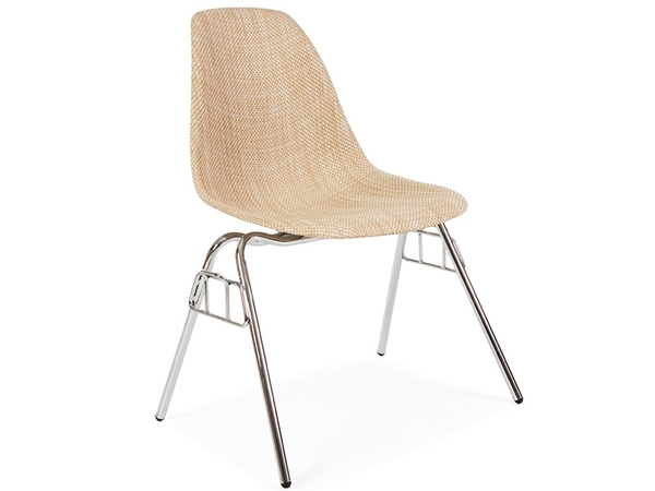 DSS chair Weave stackable - Beige