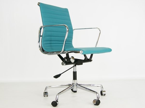 Eames chair Alu EA117 - Blue