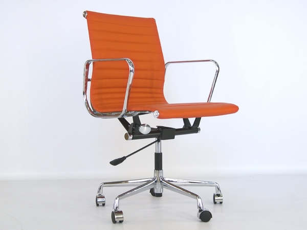 Eames chair Alu EA117 - Orange