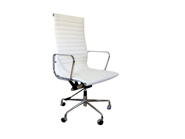 Eames chair Alu EA119 - White