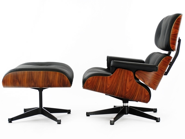 Eames Lounge chair - Rosewood