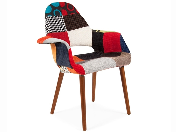 Eames Organic Chair - Patchwork