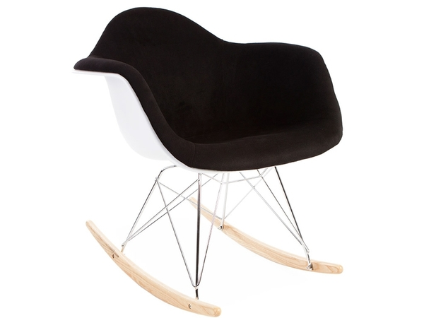 Eames RAR Wool Padded - Black