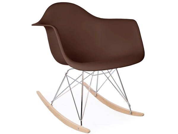 Eames rocking chair RAR - Brown