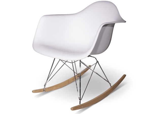Eames Rocking Chair RAR - White