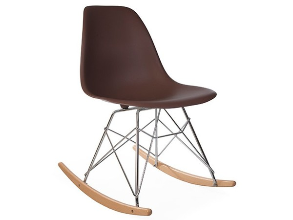 Eames Rocking Chair RSR - Coffee