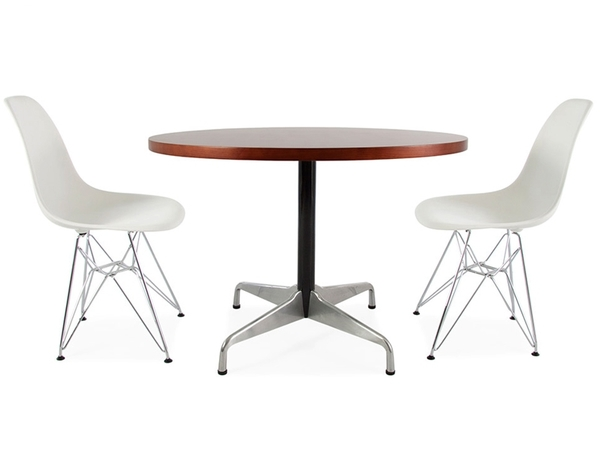 Eames table Contract and 2 chairs