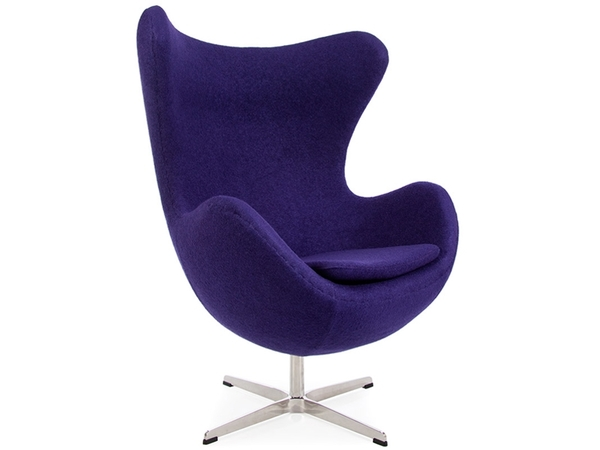 Egg Chair Arne Jacobsen - Purple