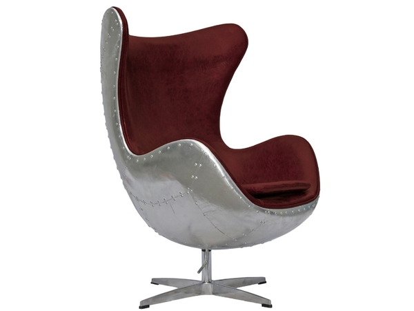 Egg Spitfire Chair AJ - Red