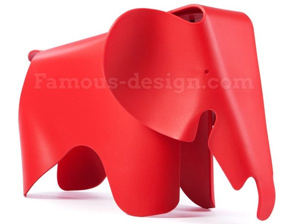 Elephant Eames - Red