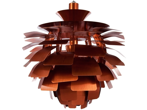 Hanging lamp Artichoke L - Copper