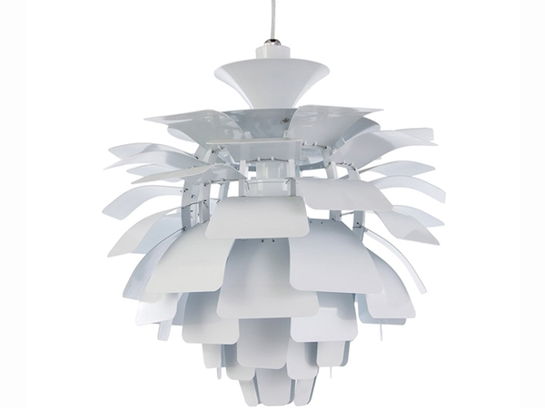 Hanging lamp Artichoke M - White