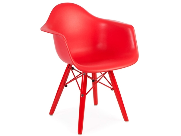 Kids Chair Eames DAW Color - Red