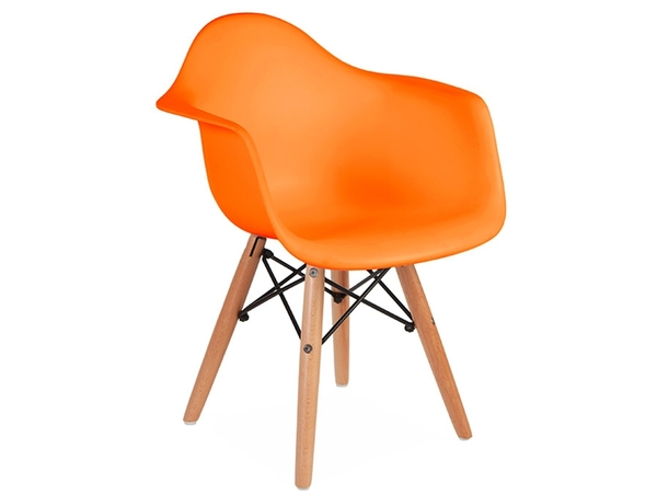 Kids Chair Eames DAW Kids - Orange