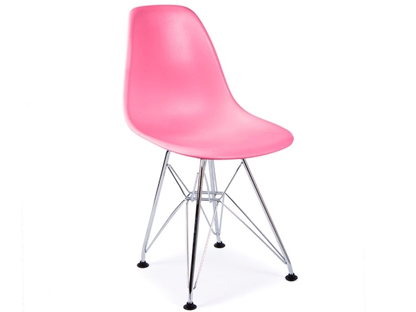 Kids chair Eames DSR - Pink
