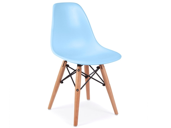 Kids Chair Eames DSW - Blue