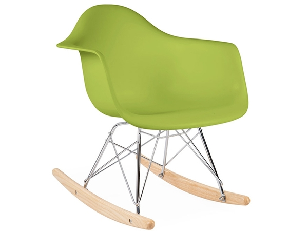 Kids Eames rocking chair RAR - Green