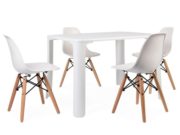 Kids table Jasmine - 4 DSW chairs