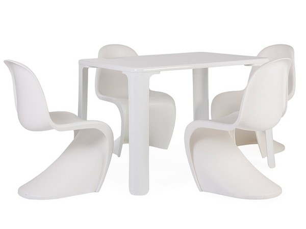 Kids table Jasmine - 4 Panton chairs