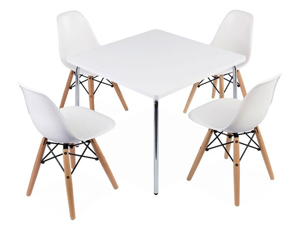 Kids table Olivier - 4 DSW chairs