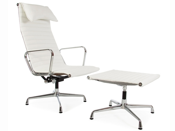 Lounge Chair EA124 - White