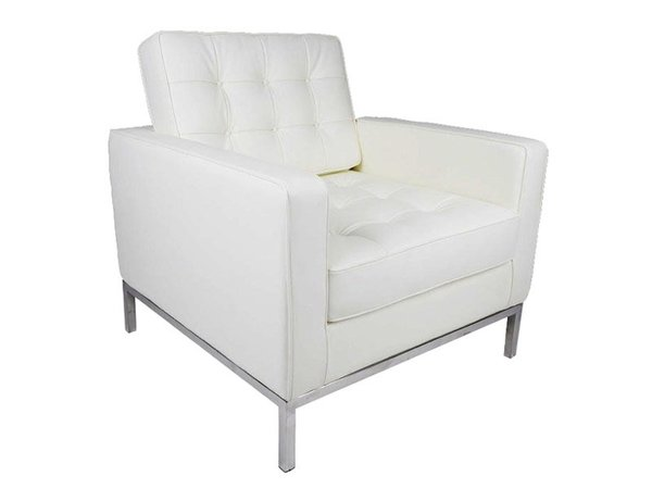 Lounge Chair Knoll - White