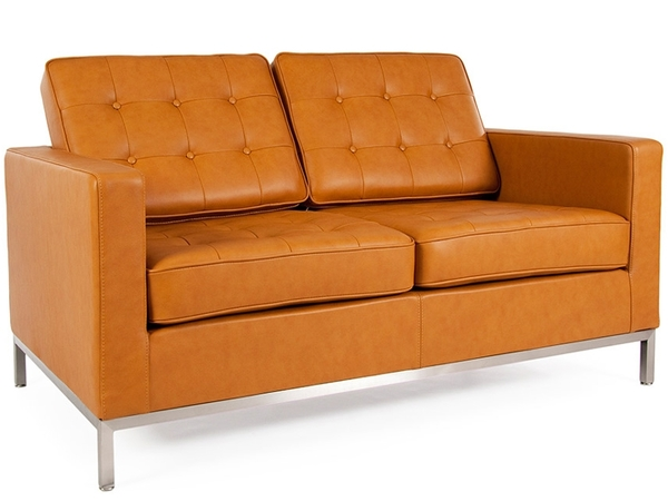 Lounge Knoll 2 Seater - Caramello