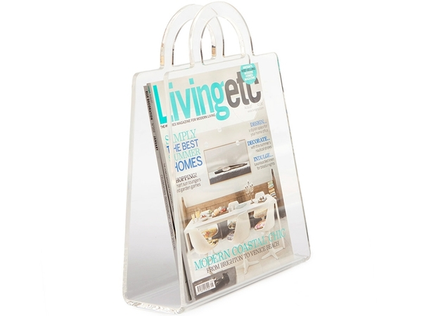 Magazine rack Handbag - Transparent