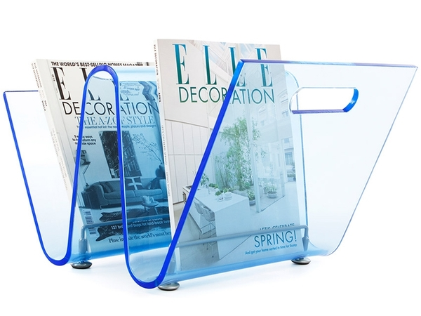 Magazine rack The Wave - Blue