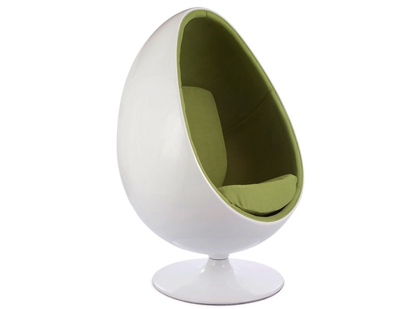 Ovale Egg chair - Green