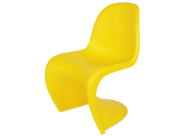 Panton chair - Yellow