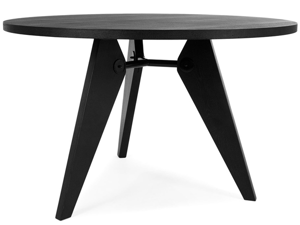 Round dining table Prouvé
