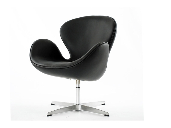 Swan chair Arne Jacobsen - Black