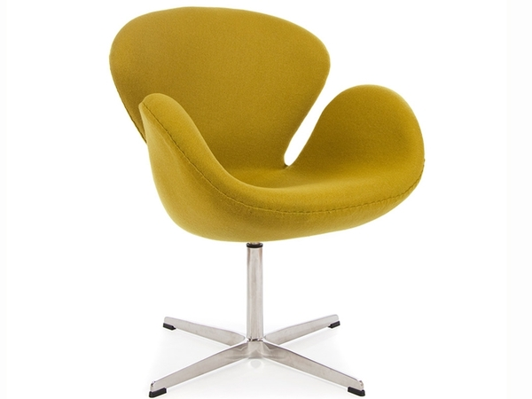 Swan chair Arne Jacobsen - Olive green