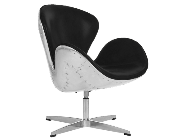 Swan Spitfire chair AJ - Black