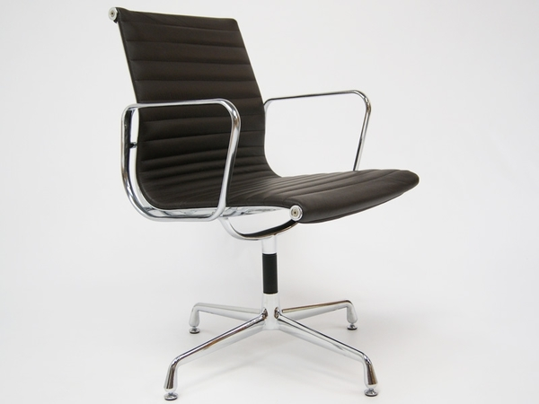 Visitor chair EA108 - Dark brown